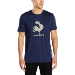 le coq sportif OSR TEE SS M DRESS BLUE 1421633
