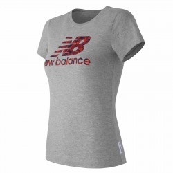 New Balance CAMISETA MC LEAF EWT61740 HGR