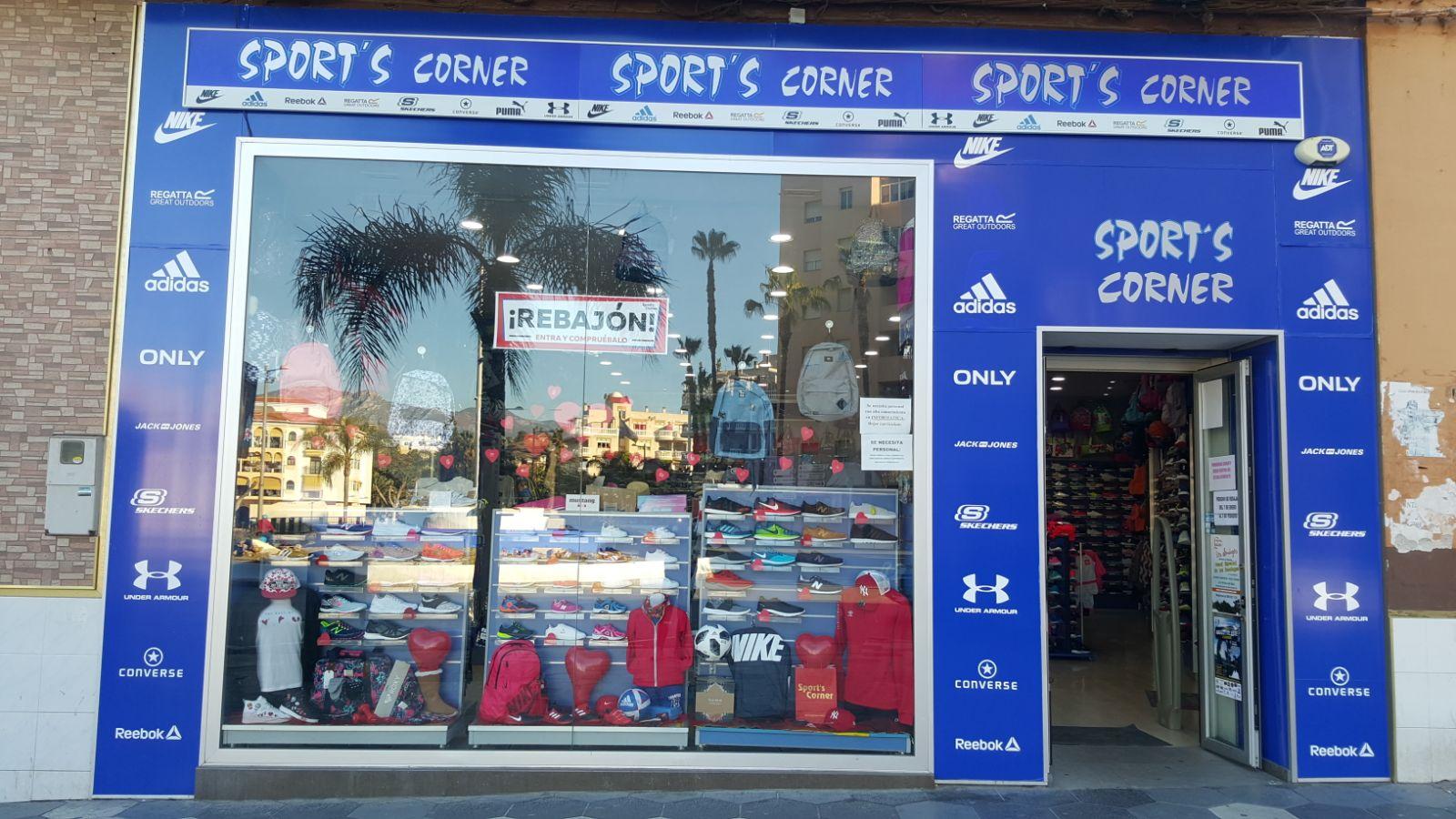 tienda sports corner almuñecar